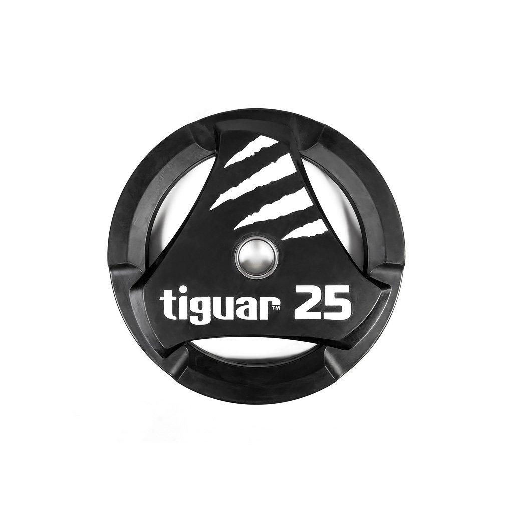 Tiguar PU kotouč na olympijskou osu 25 kg_01