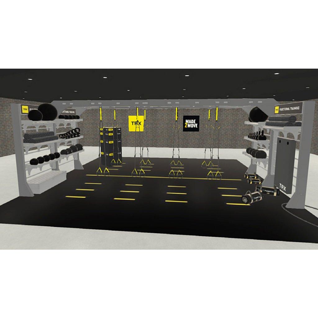 TRX® STUDIO LINE – Bridge + Bay (konstrukce + vybavení)_01