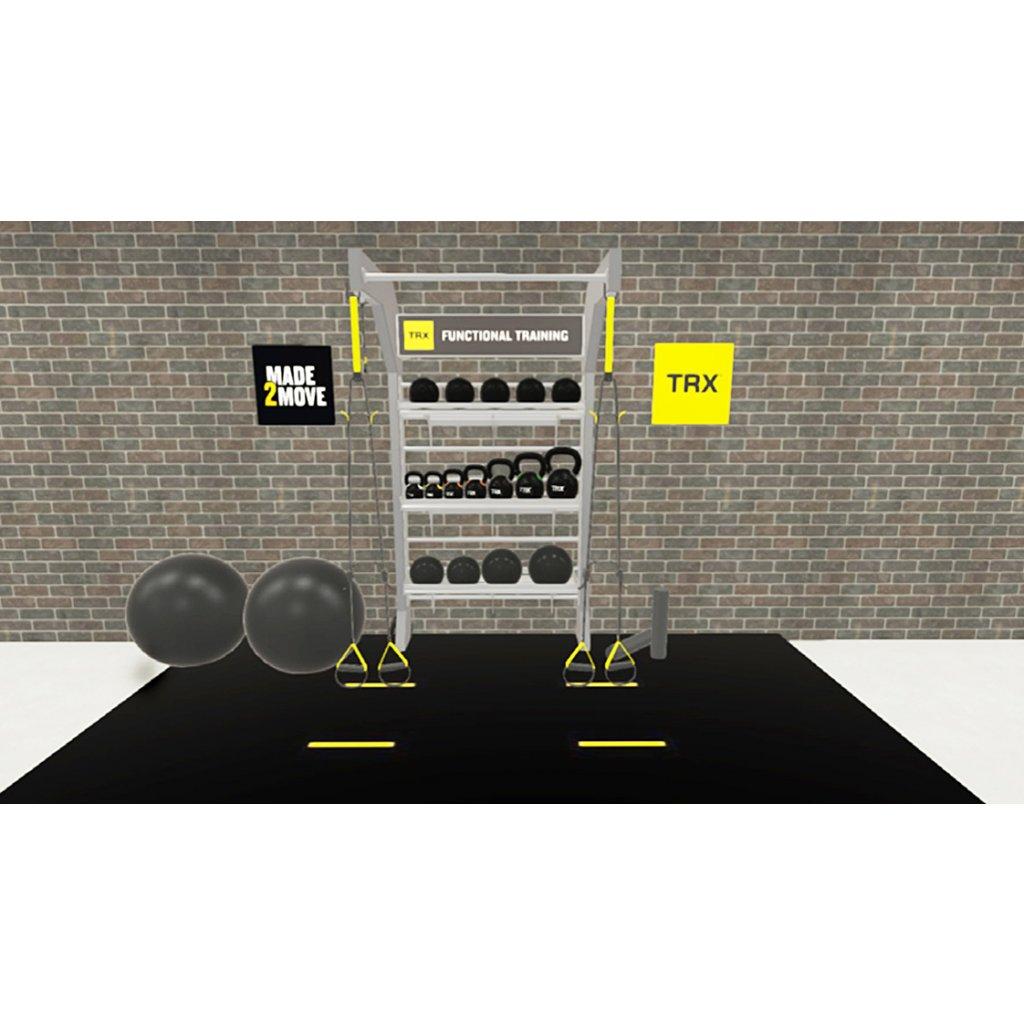 TRX® STUDIO LINE – Single Bay (konstrukce + vybavení)_01