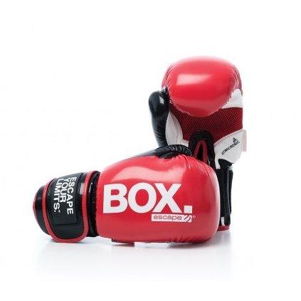 Escape Boxovací rukavice – střední (červené)_01