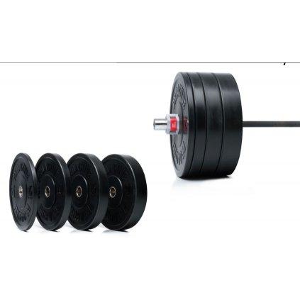 Gumový kotouč na Crossfit PRO ACTIVE 5 kg_01