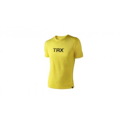 Originál tričko pánské – žluté s černým nápisem, vel. M_01