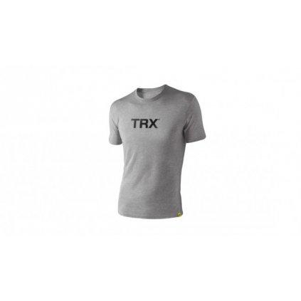 Originál tričko TRX pánské – šedé s černým nápisem, vel.S_01