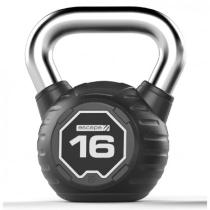 Pogumovaný kettlebell Escape – 16 kg_01