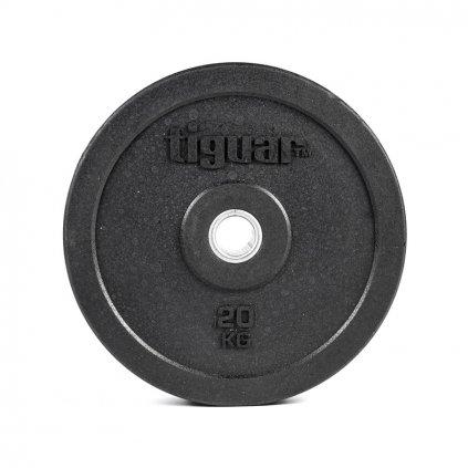 Tiguar gumový kotouč na olympijskou osu 20 kg_01