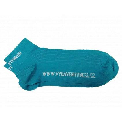 Ponožky VYBAVENÍ FITNESS – modré_01
