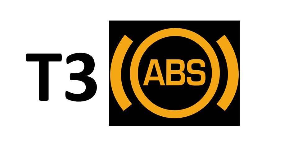 Homologace T3 ABS