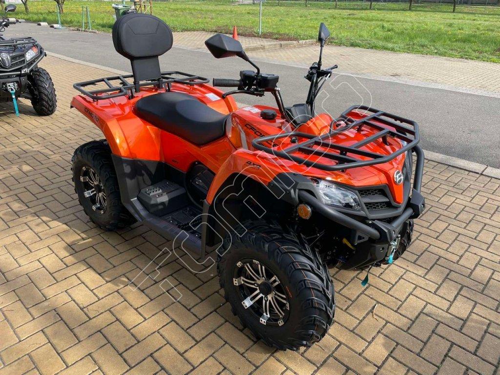 čtyřkolka Journeyman Gladiator X450-A EFI Euro4-oranžová