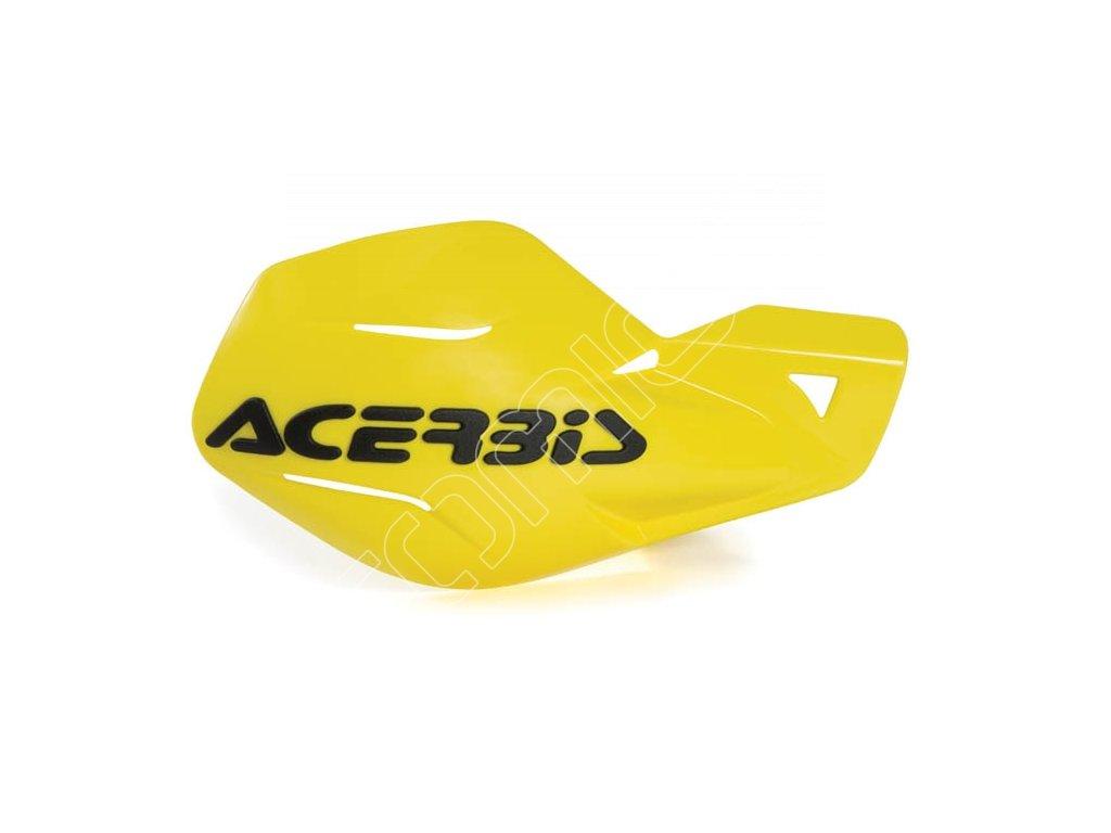 Chrániče páček Acerbis MX Uniko - žluté