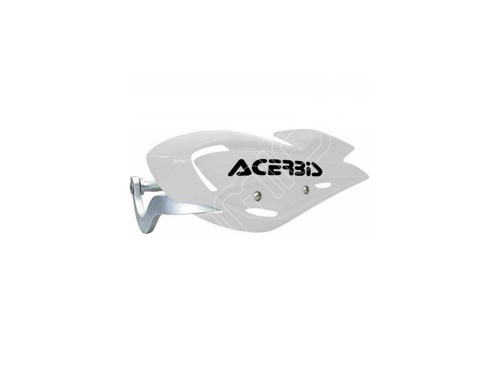 Chrániče páček Acerbis Uniko ATV-bílé