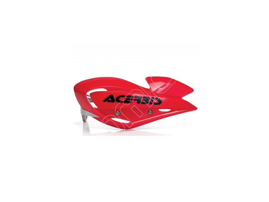 Chrániče páček Acerbis Uniko ATV-červené