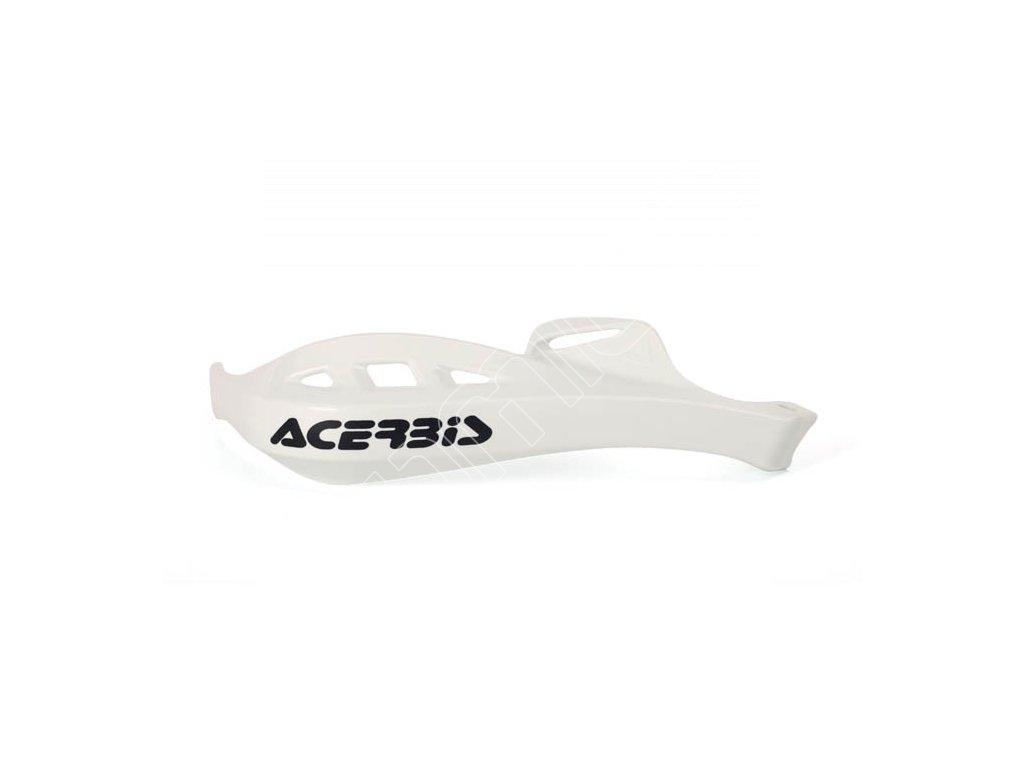 Chrániče páček Acerbis Rally Profile - bílé