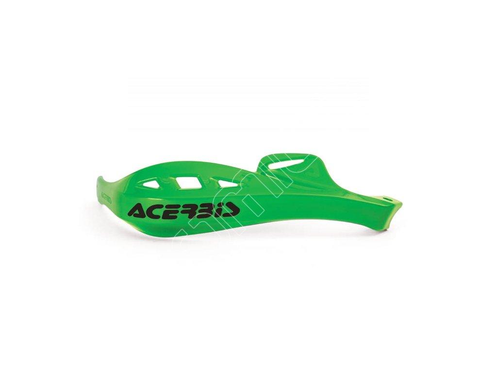Chrániče páček Acerbis Rally Profile - zelené