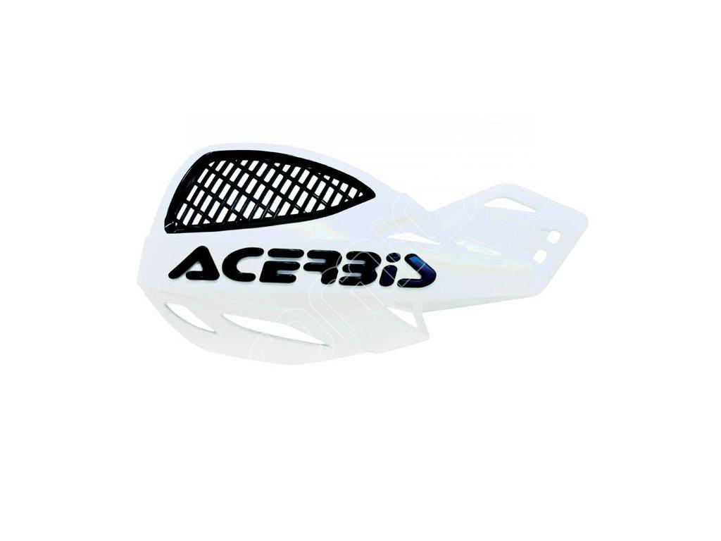 Chrániče páček Acerbis MX Uniko Vented-bílé
