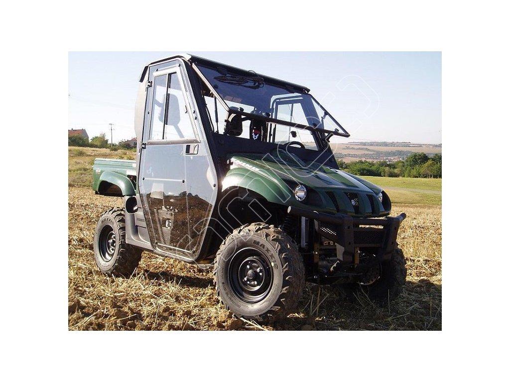 Kompletní kabina s výhřeven na Yamaha Rhino 700