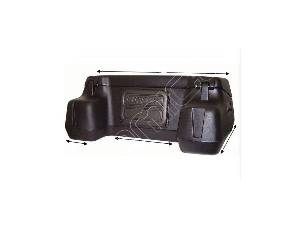 Box plastový Kimpex Cargo Trunk na čtyřkolku - zadní