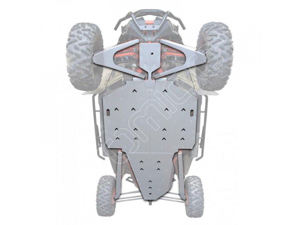 Kompletní hliníkový kryt podvozku Can-Am Maverick X3 XRS