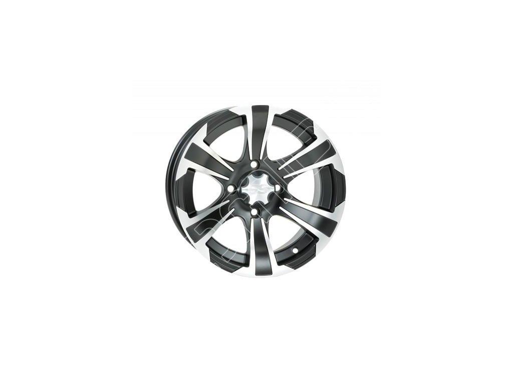 Hliníkový disk na čtyřkolku ITP SS312 Black 12x7 2+5 4/110