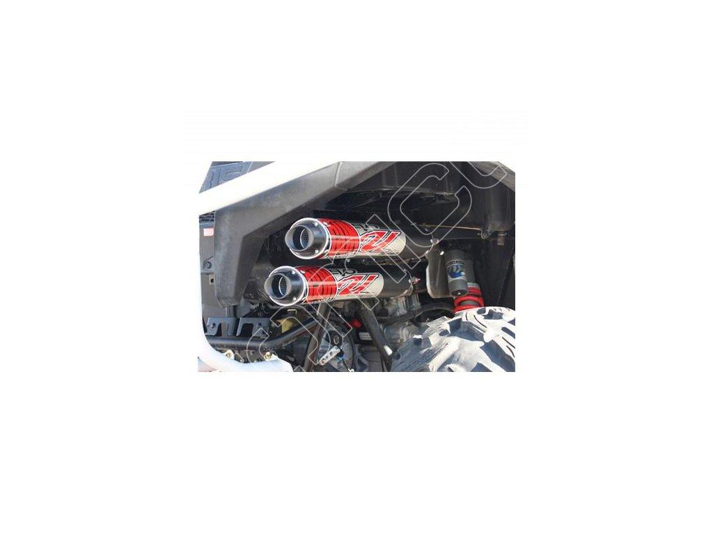 Kompletní dvojitý výfukový systém Polaris RZR 900XP/RZR 4 900
