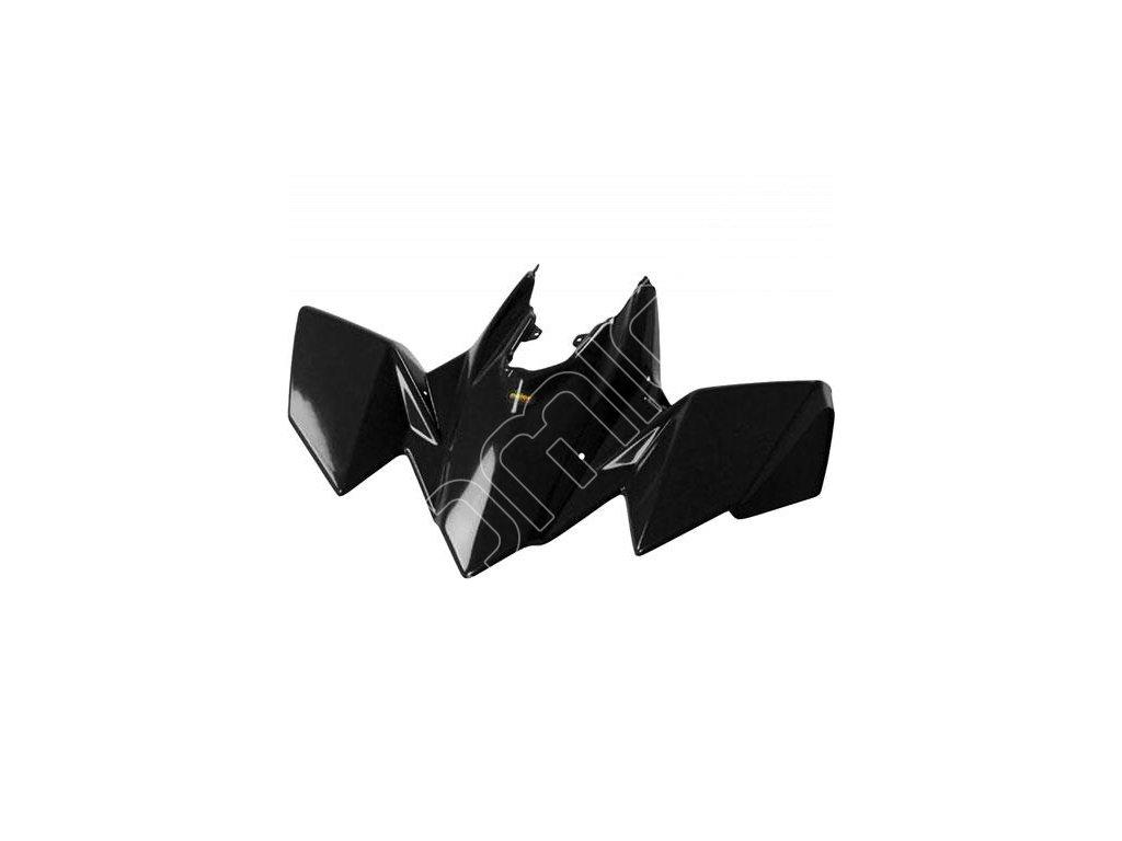Přední plast na Suzuki LTR-450-černé barvy