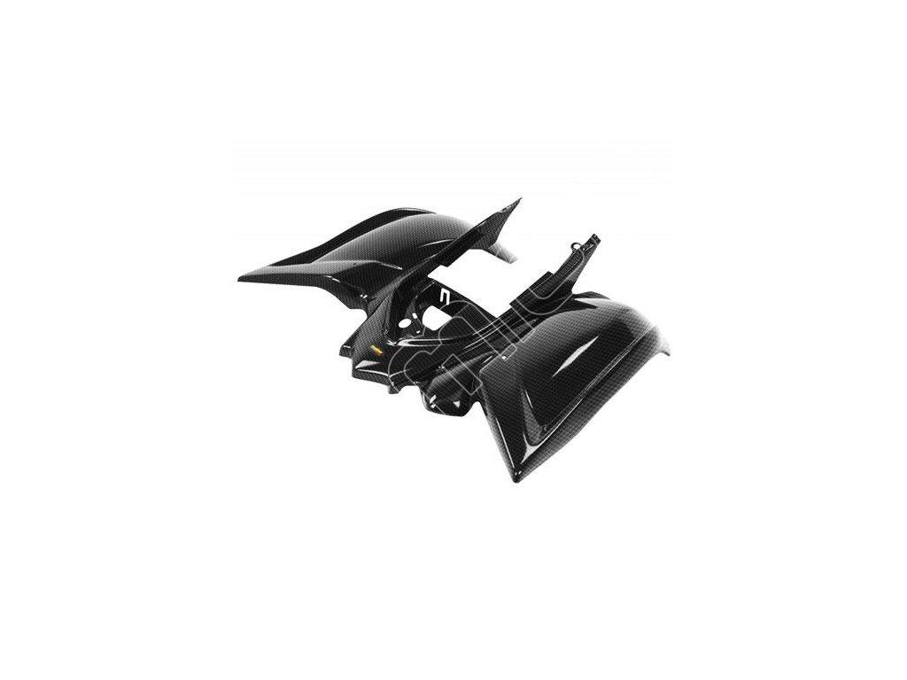 Zadní plast na Yamaha YFM700 Raptor-černá barva