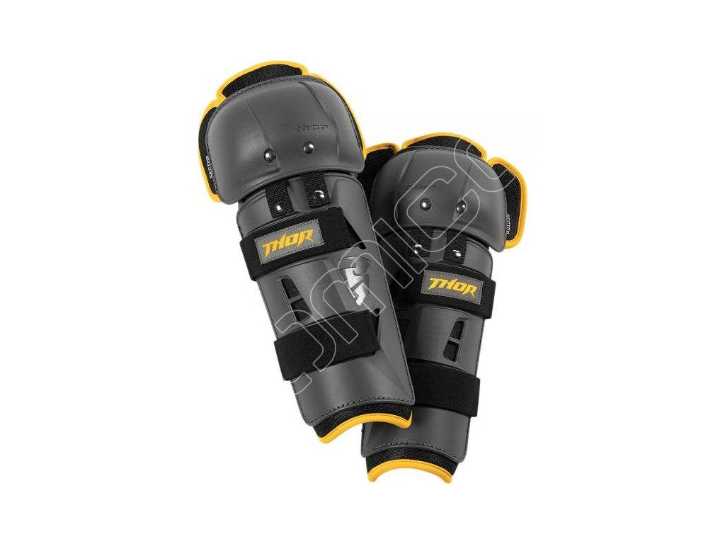 Chrániče kolen Thor Sector GP černo/žluté
