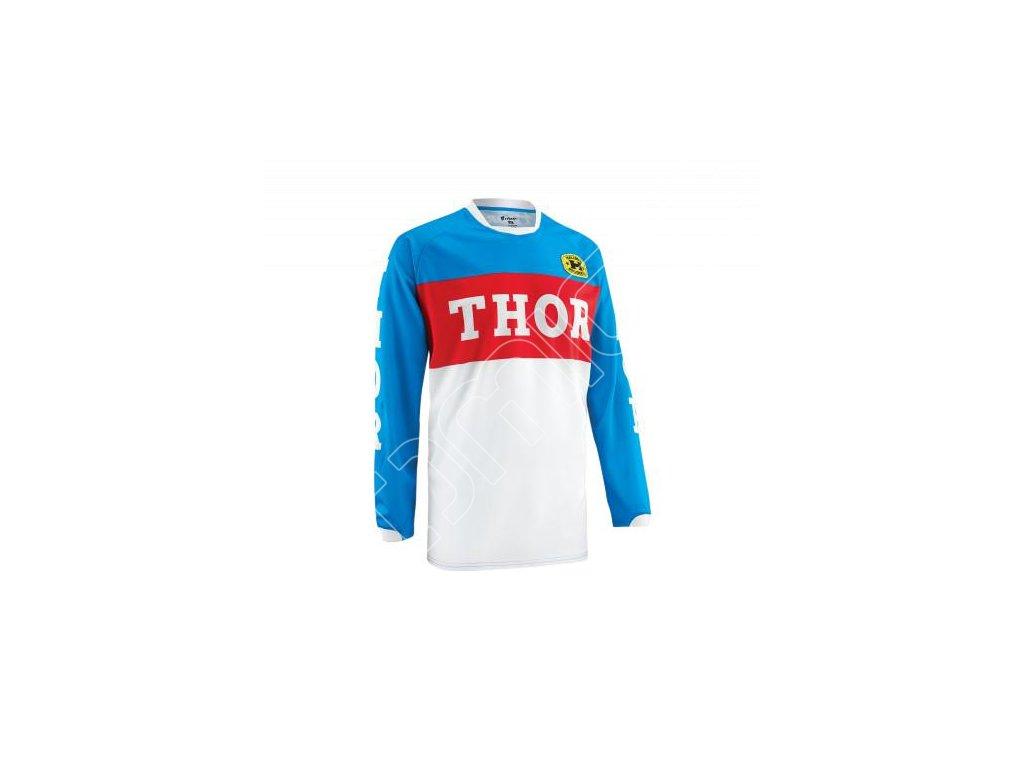 Dres na čtyřkolku Thor S15 Phase GP-modro/červený vel.XXL