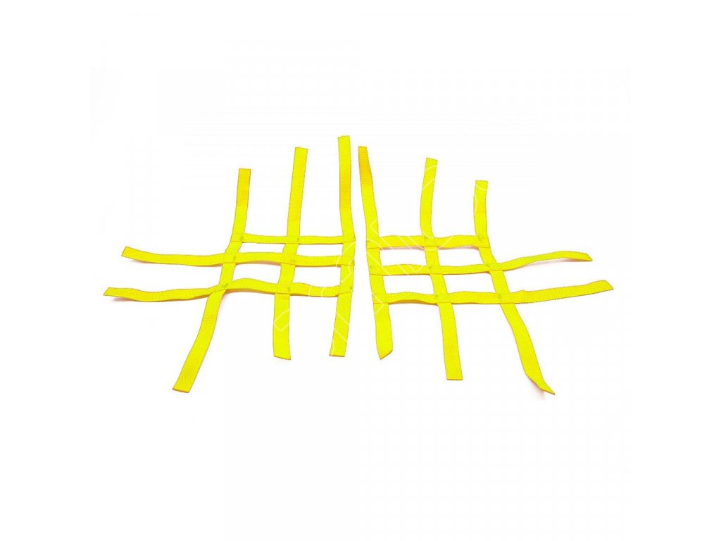 nerf bar net universal for can am ds 450 yellow