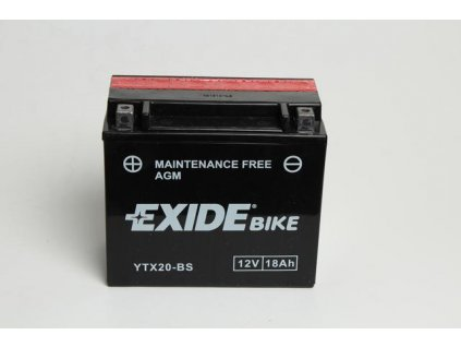 Baterie gelová Exide YTX20-BS na Arctic Cat
