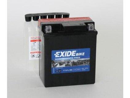 Baterie gelová Exide YTX7L-BS na Kawasaki KFX 450R