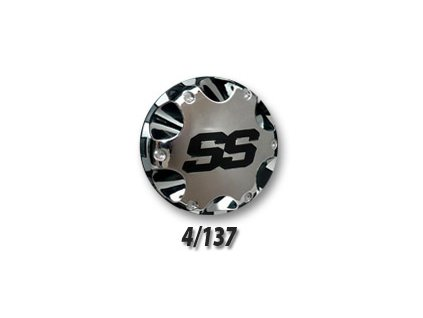 Náhradní chromový kryt na disky SS 212 4/137