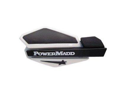 Chrániče páček PowerMadd Star-bílo/černé