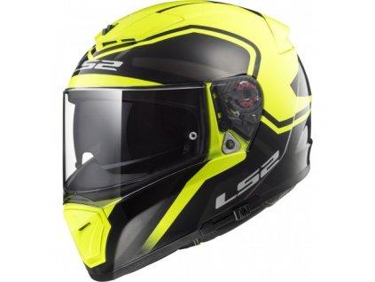 Integrální helma LS2 FF390 BREAKER BOLD Black H-V Yellow