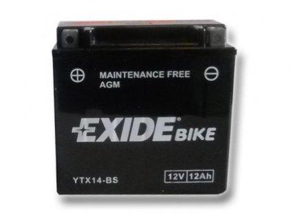 Baterie gelová Exide YTX14-BS Yamaha Raptor 660