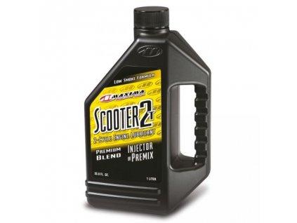 Motorový olej Maxima Scooter 2T 1L