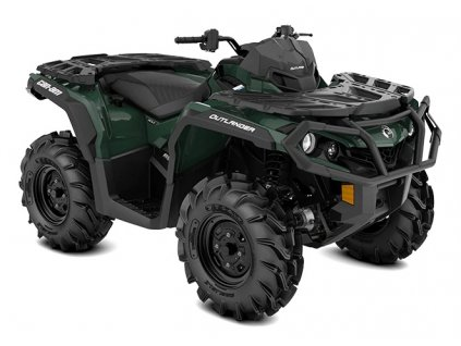 MY21 Can Am Outlander XU 650 Tundra Green 34view INT