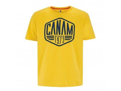 Pánské tričko Can-Am Intrusion žluté