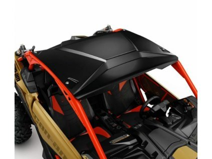 Černá/Stříbrná hliníková střecha na Can-Am Maverick X3