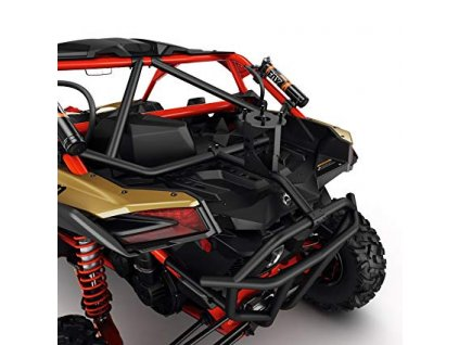 LSR držák náhradní pneumatiky na Maverick X3 černá/červená