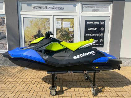 Sea Doo SPARK 900 HO ACE 2-up iBR 90hp modro-zelený