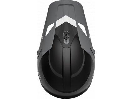 Motokrosová helma LS2 MX437 FAST - Core Black Orange