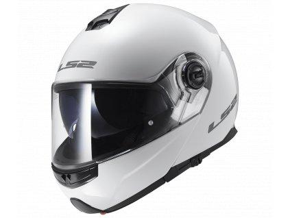 Výklopná helma LS2 FF325 STROBE - SOLID white