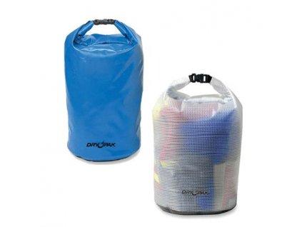 Vodotěsný vak KWIK TEK BAG DRY různé velikosti - modrý/čirý