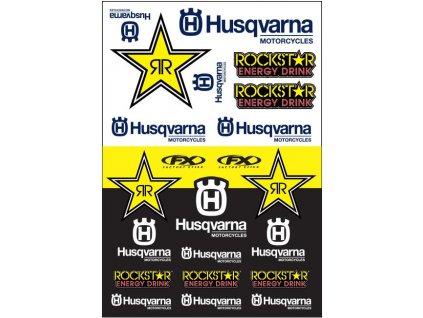 Polepy Husqvarna Racing Rockstar