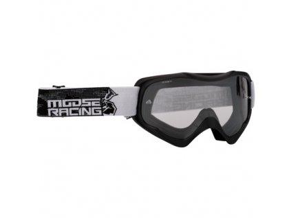 Motokrosové brýle Moose Racing Qualifier Slash-černé