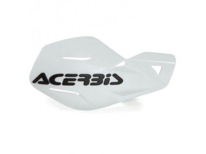 Chrániče páček Acerbis MX Uniko - bílé
