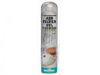 Olej ve spreji Motorex na vzduchové filtry OIL 655 750ml