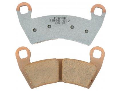 Přední/zadní brzdové desky na Polaris RZR 900/1000 XP
