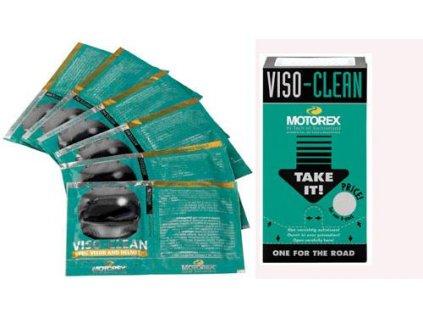 Čisticí utěrky pro helmu a hledí Motorex VISO-CLEAN