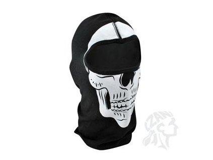 Kukla Skull na čtyřkolku
